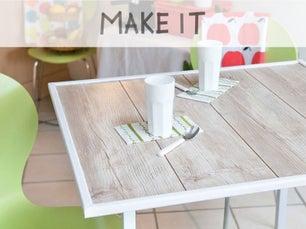 diy fabriquer une desserte en palette leroy merlin. Black Bedroom Furniture Sets. Home Design Ideas