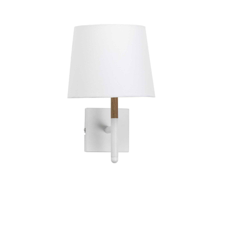 Applique métal blanc MATHIAS Lotta 1 lumière(s)
