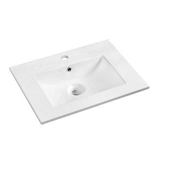 Plan vasque simple Dado Céramique 61 cm