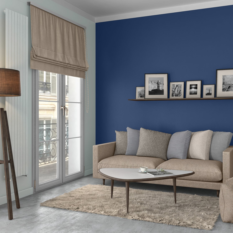 Salon Bleu Saphir Et Chic Leroy Merlin