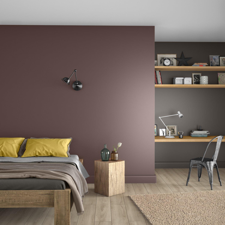 Une chambre bicolore et tendance | Leroy Merlin