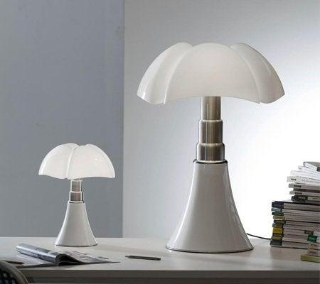 Lampe Design Acier Inox Blanc Pipistrello Leroy Merlin
