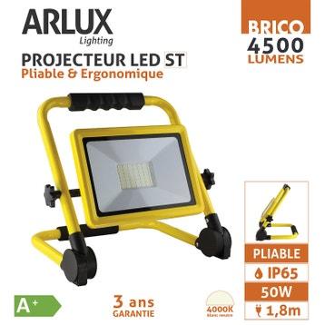 Avis Projecteur Led Rechargeable Au Meilleur Prix Leroy Merlin