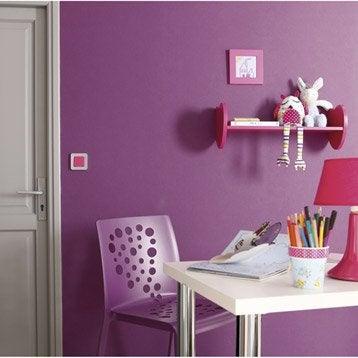 Papier peint intissé Lisse mat violet tulipe n°3