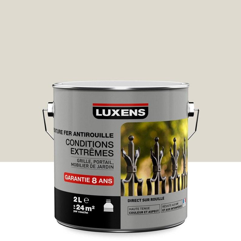 Peinture Fer Extérieur Antirouille Luxens Blanc Ivoire N1 2 L
