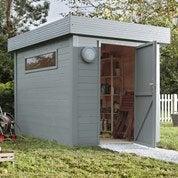 Pose d'un abri de jardin jusqu'à 10 m²