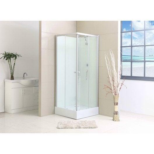 Cabine de douche carré 80x80 cm, Nerea2