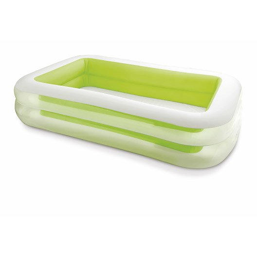 Piscine hors sol autoportante gonflable family intex l 2 - Piscine hors sol gonflable ...