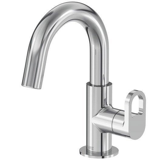 Robinet de lave mains eau froide chrom bow leroy merlin - Robinet lave main eau froide ...