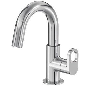 Robinet de lave-mains eau froide chromé Bow