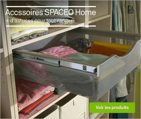 Accessoires de rangement Spaceo