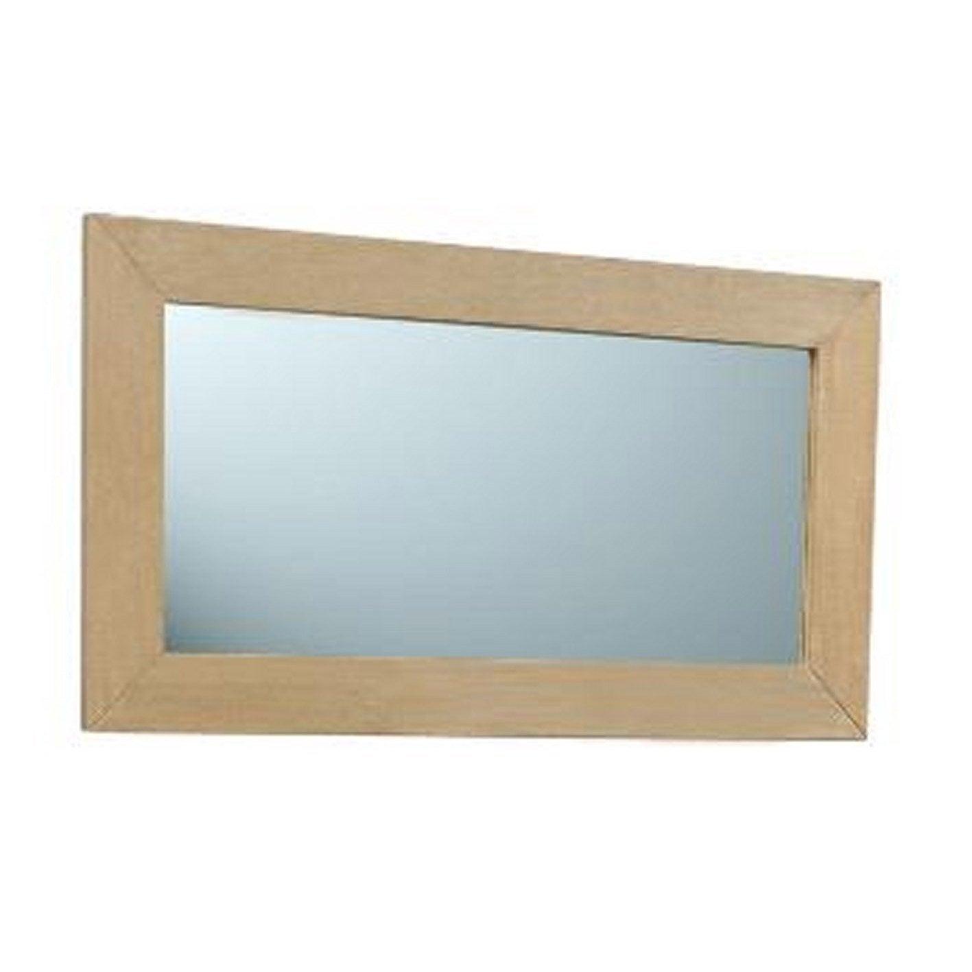 Miroir rectangulaire, l.50 x H.90 cm