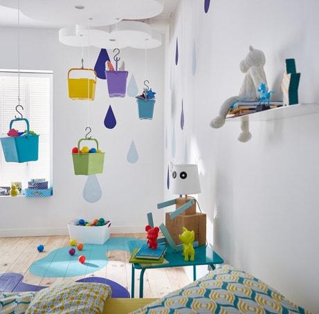 Une structure originale pour ranger les jouets des enfants