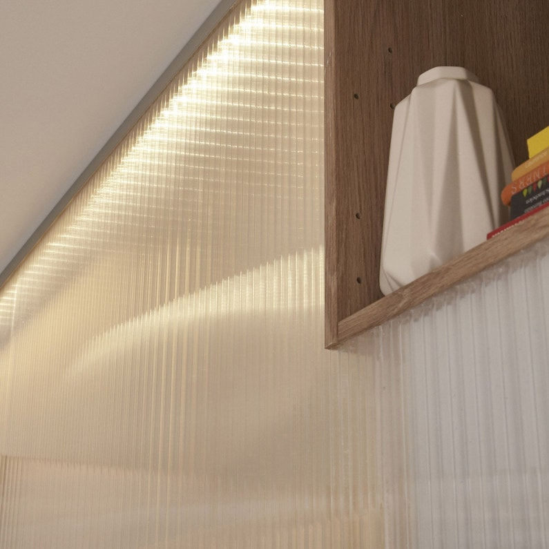 plaque plat polycarbonate translucide carboglass l x. Black Bedroom Furniture Sets. Home Design Ideas