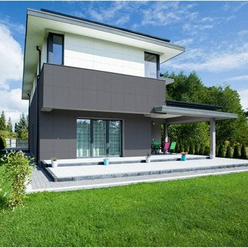 bardage bois pvc composite au meilleur prix leroy merlin. Black Bedroom Furniture Sets. Home Design Ideas
