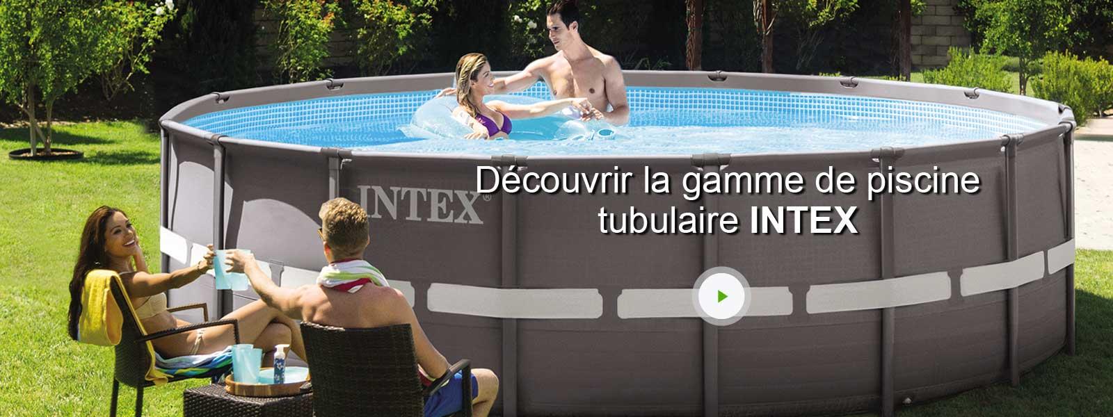 piscine hors sol tubulaire ultra frame intex diam x h m leroy merlin. Black Bedroom Furniture Sets. Home Design Ideas