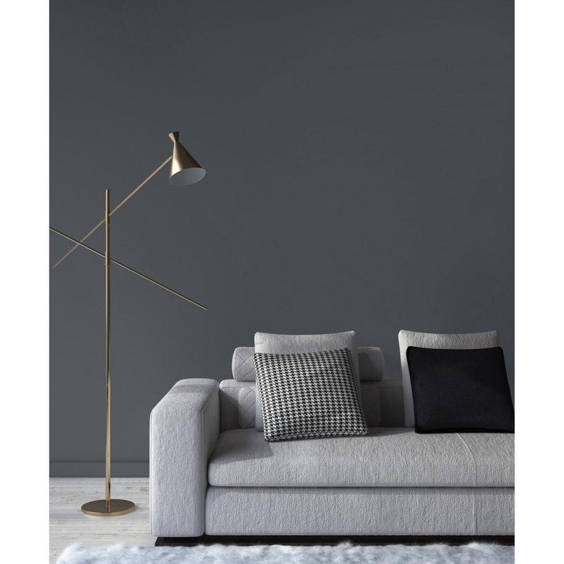 Peinture, mur, boiserie, radiateur, RIPOLIN, gris tokyo, mat, 2.5 l