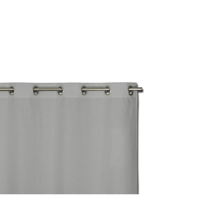 Rideau tamisant, Neo gris l.135 x H.300 cm