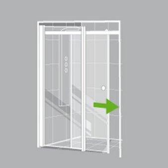 comment choisir sa porte et sa paroi de douche leroy merlin. Black Bedroom Furniture Sets. Home Design Ideas