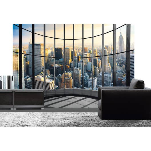 poster xxl de mur office view deco wall x cm leroy merlin. Black Bedroom Furniture Sets. Home Design Ideas