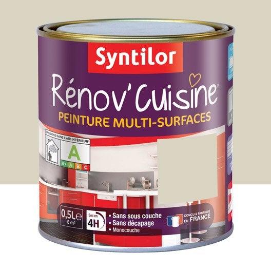 Peinture pour meuble cuisine et bain peinture cuisine et for Peinture cuisine beige