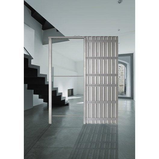 syst me galandage chassis plein scrigno pour porte de largeur 73 cm leroy merlin. Black Bedroom Furniture Sets. Home Design Ideas