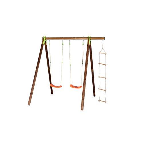 portique bois xylo trigano cm leroy merlin. Black Bedroom Furniture Sets. Home Design Ideas