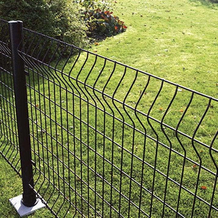 Pose d\'une clôture en panneau grillagé au mètre linéaire ...