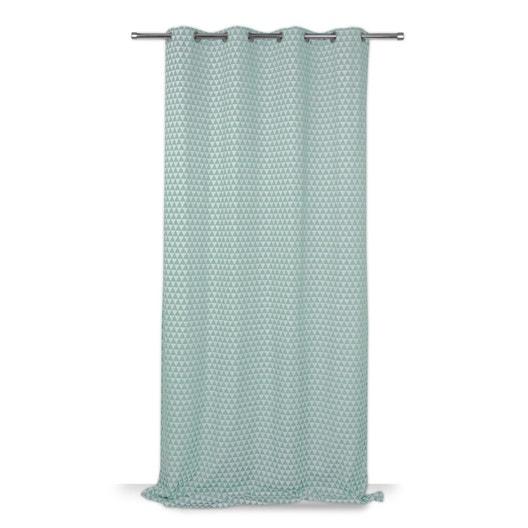rideau tamisant ming vert meraude x cm leroy merlin. Black Bedroom Furniture Sets. Home Design Ideas