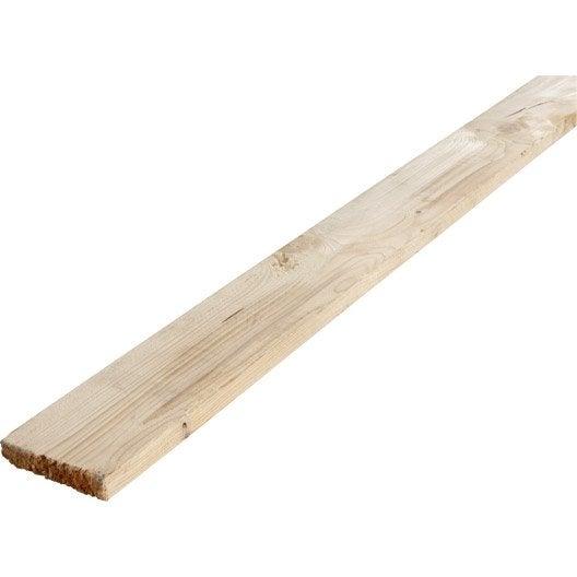 Planche sapin pic a non trait 25x150 mm 3 m chx3 - Planche de coffrage prix ...