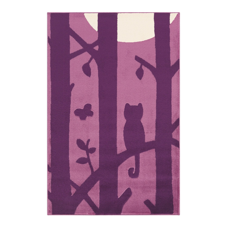 tapis multicolore enfant velours chat x cm leroy merlin. Black Bedroom Furniture Sets. Home Design Ideas