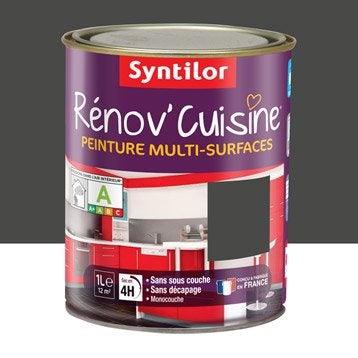 Peinture Rénov'cuisine SYNTILOR, Gris Pavot, 1 l