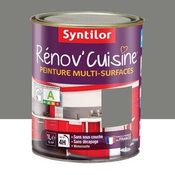 Peinture Rénov'cuisine SYNTILOR, Poivre gris, 1 l