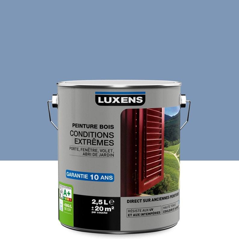 Peinture Bois Extérieur Conditions Extrêmes Luxens Bleu Provence