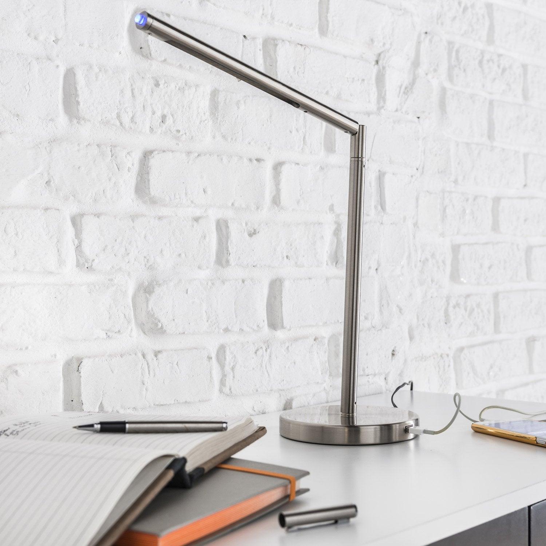 Merlin À Lampe UsbLed Fixer Intégrée ClicLeroy Blanc 8P0wXnOk