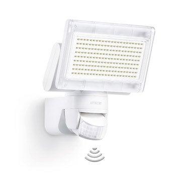 Projecteur à fixer à détection extérieur LED intégrée 14.8W=920Lm, blanc STEINEL