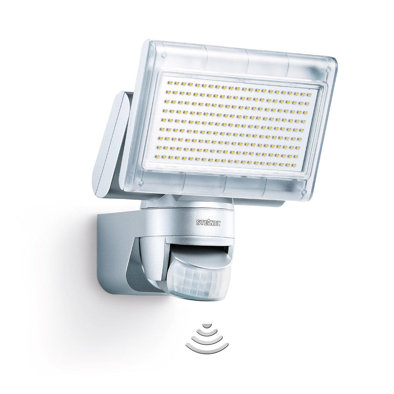 projecteur fixer d tection ext rieur led int gr e14 8w. Black Bedroom Furniture Sets. Home Design Ideas