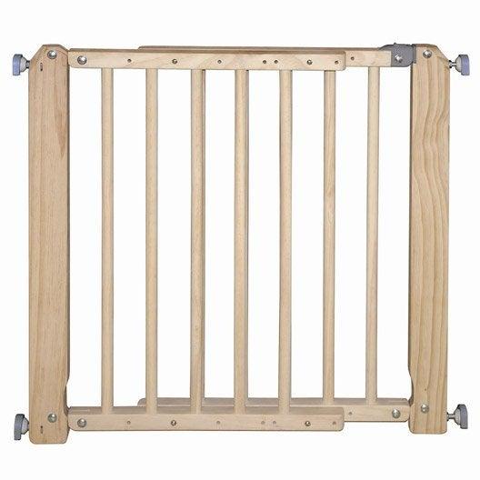 barri re de s curit escalier barri re de s curit b b au meilleur prix leroy merlin. Black Bedroom Furniture Sets. Home Design Ideas