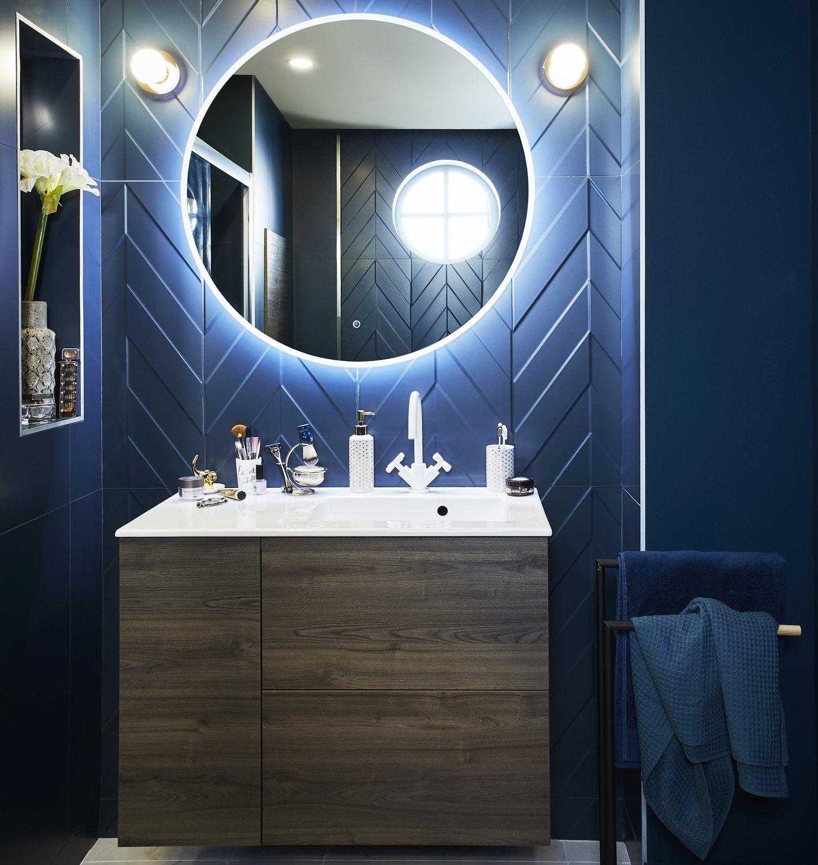 Style classique chic dans la salle de bains | Leroy Merlin