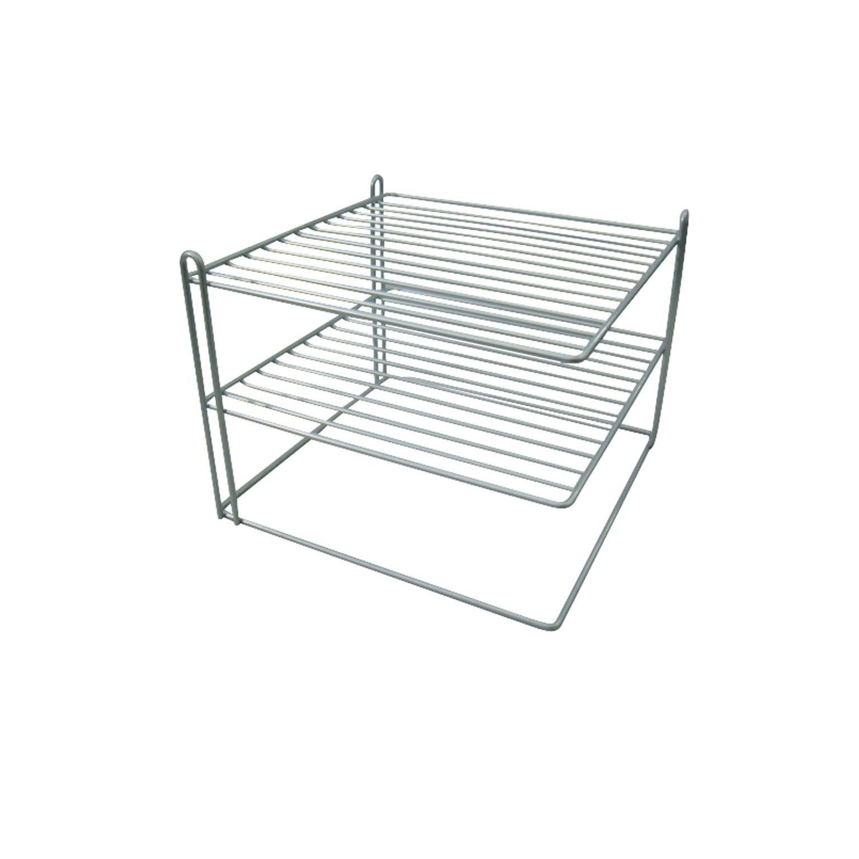 Porte-assiettes range-couvert pour meuble d'angle bas
