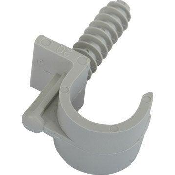 Clip simple, Diam.16 à 20 mm, L.50 mm
