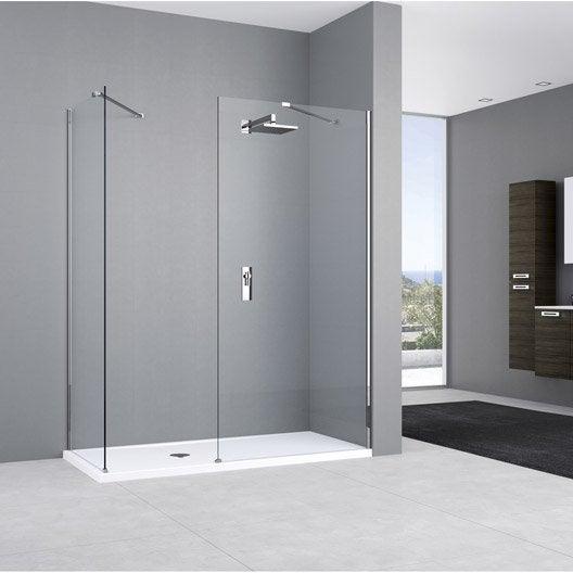paroi de douche l 39 italienne cm verre. Black Bedroom Furniture Sets. Home Design Ideas