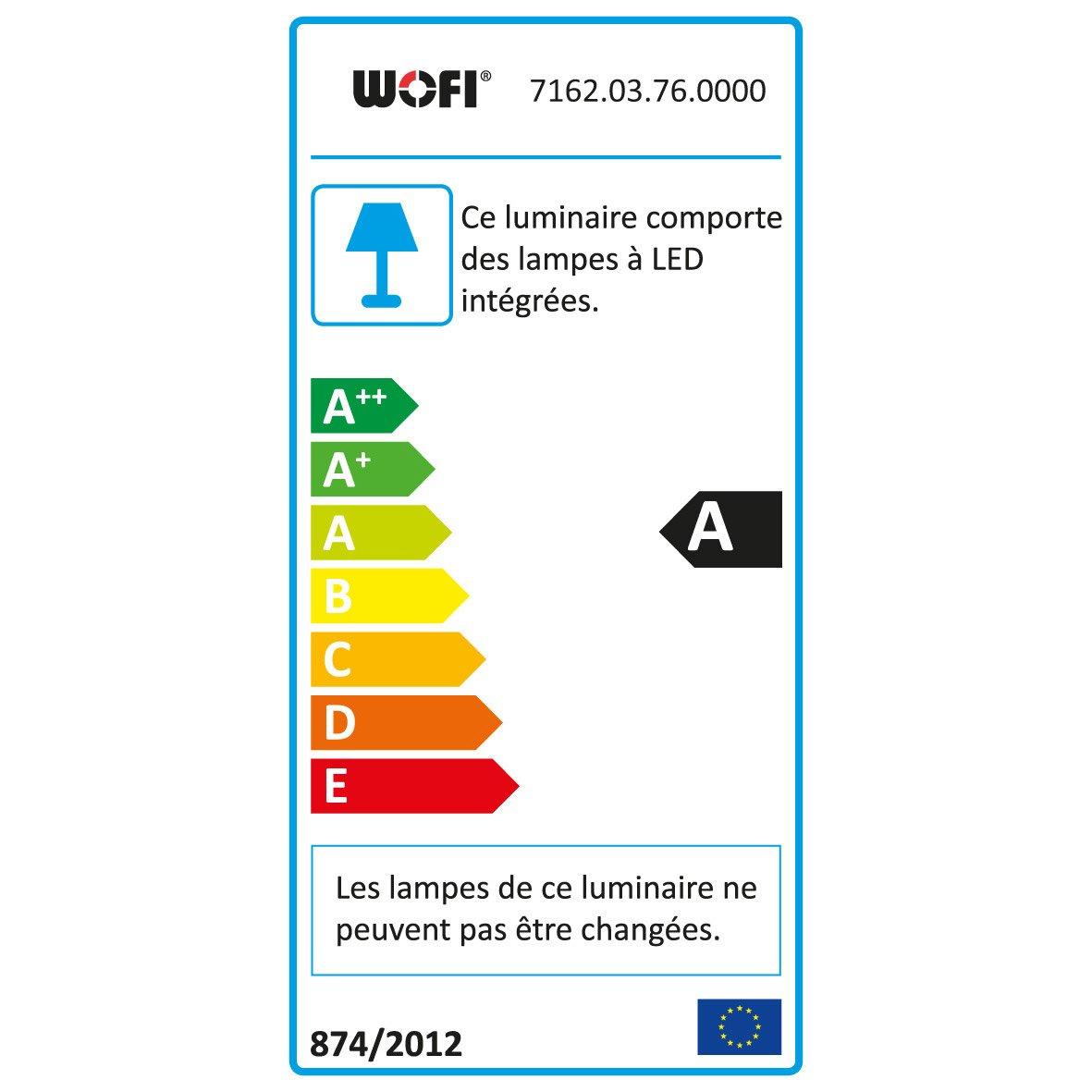 Wofi Intégrée X Segura Oxydé 3 W 36 Mat Design SuspensionLed Métal Nickel QeEoWCrdxB