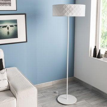 Lampadaire Kazuko INSPIRE, 144 cm, blanc, 60 W