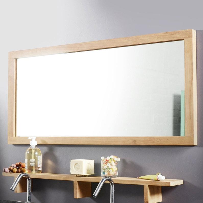 Miroir Encadre L 100 X H 50 Cm Tikamoon Bahya