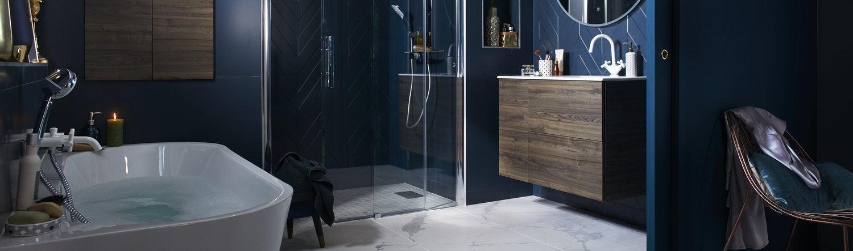 Donnez un style art déco à la salle de bains | Leroy Merlin