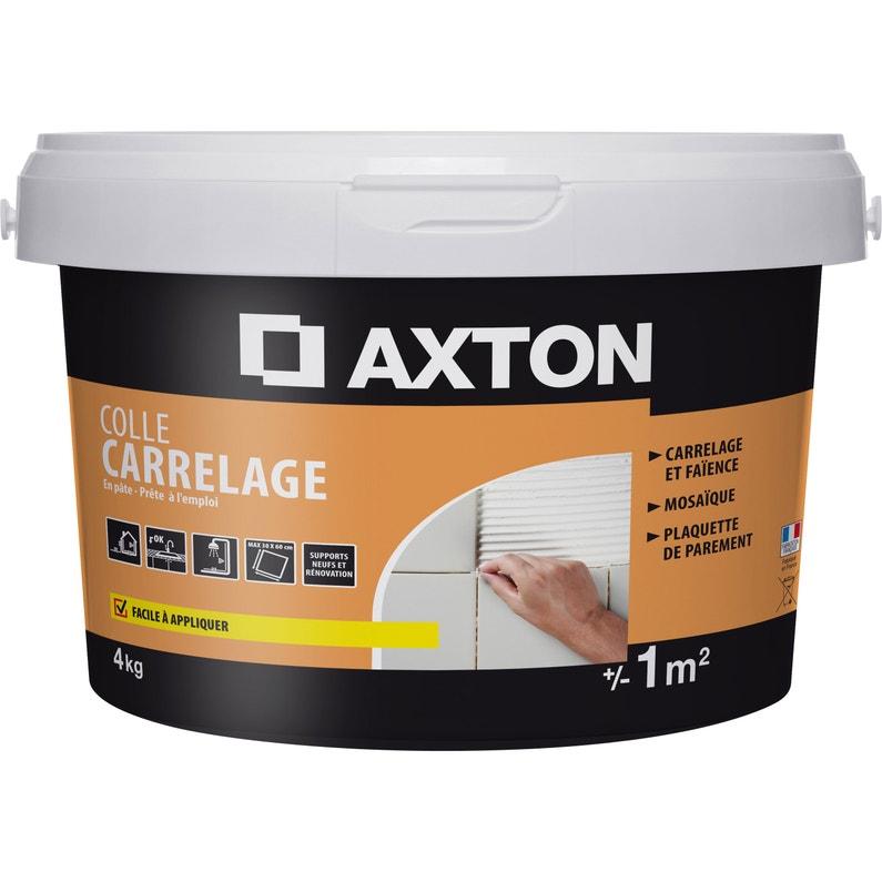 Colle Pâte Axton Blanc 4 Kg 1 M²