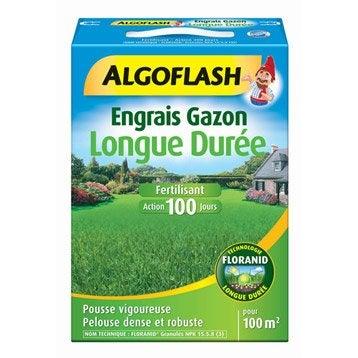 Engrais longue durée ALGOFLASH 3 kg, 100 m²