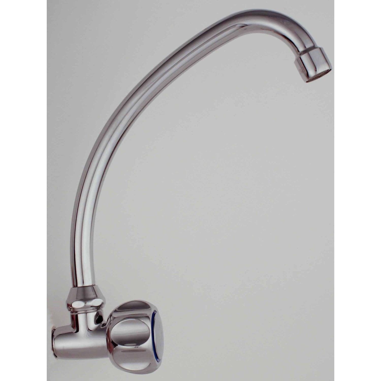 Robinet de lave mains eau froide chrom ellen leroy merlin - Robinet lave main eau froide ...