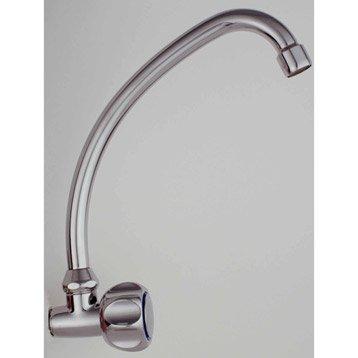 Robinet de lave-mains eau froide chromé Ellen